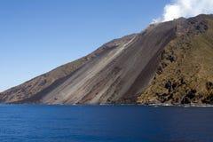 Isola di Stromboli fotografie stock libere da diritti