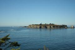 Isola di Tatoosh Immagine Stock