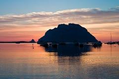 Isola di Tavolara Fotografia Stock Libera da Diritti