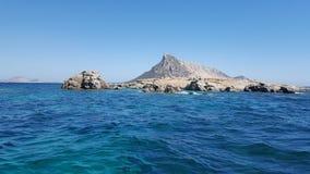 Isola di Tavolara - di Sardinja fotografia stock libera da diritti