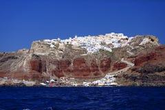 Isola di Thira fotografia stock libera da diritti