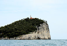 Isola di Tino Fotografia Stock Libera da Diritti
