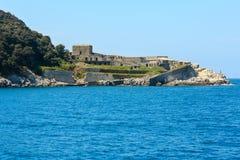 Isola di Tino, La Spezia, Italia Immagine Stock