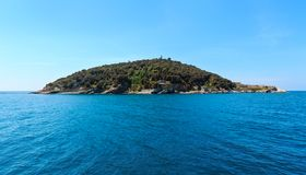 Isola di Tino, La Spezia, Italia Fotografia Stock
