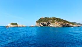 Isola di Tino, La Spezia, Italia Fotografie Stock