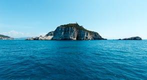 Isola di Tino, La Spezia, Italia Immagini Stock