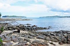 Isola di Tristan Fotografie Stock