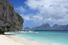 Isola di Tropica Immagini Stock Libere da Diritti