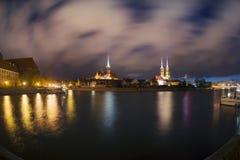 Isola di Tumsky alla notte Fotografia Stock Libera da Diritti