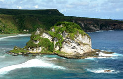 Isola di uccello Saipan immagini stock