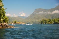 Isola di Vancouver immagini stock libere da diritti