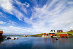 Isola di Vega in Norvegia Fotografie Stock Libere da Diritti
