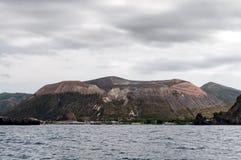 Isola di Vulcano fotografia stock libera da diritti