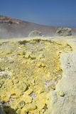 Isola di Vulcano, Lipari, Italia Fotografia Stock