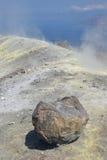 Isola di Vulcano, Lipari, Italia Fotografia Stock Libera da Diritti