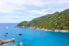 Isola di yuan di Nang in Tailandia Immagini Stock Libere da Diritti