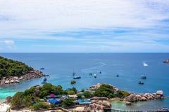 Isola di yuan di Nang in Tailandia Fotografie Stock Libere da Diritti