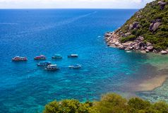 Isola di yuan di Nang in Tailandia Immagine Stock Libera da Diritti
