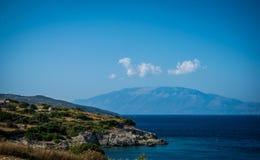 Isola di Zacinto fotografia stock