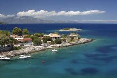 Isola di Zacinto, Grecia immagine stock