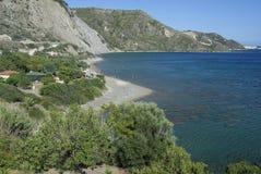 Isola di Zacinto, Zante, Grecia fotografie stock libere da diritti