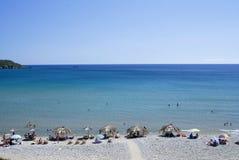 Isola di Zacinto, Zante, Grecia fotografie stock