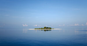Isola disabitata Fotografie Stock Libere da Diritti