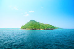 Isola ed oceano tropicali immagine stock libera da diritti