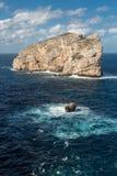 Isola Foradada near Alghero in Sardinia Royalty Free Stock Image