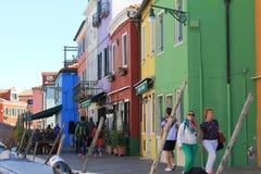 Isola fuori da Venezia Fotografia Stock