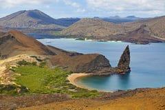 Isola Galapagos di Bartolome Immagini Stock