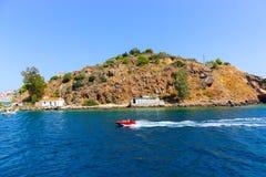 Isola greca immagine stock libera da diritti