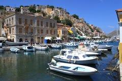 Isola greca Fotografia Stock