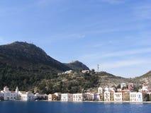 Isola greca di Kastellorizo Fotografia Stock