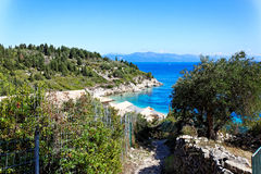 Isola greca Paxos, Grecia, Europa Immagine Stock