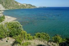 Isola Grecia della Zacinto immagini stock libere da diritti