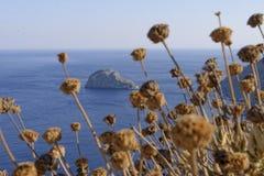Isola Grecia di Amorgos Fotografia Stock Libera da Diritti