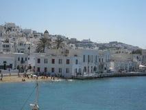 Isola Grecia di Mykonos Fotografia Stock Libera da Diritti
