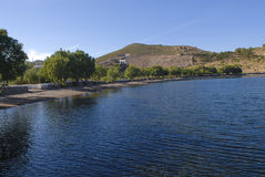 Isola Grecia di Patmos Immagine Stock