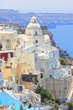 Isola Grecia di Santorini Immagine Stock