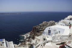 Isola Grecia di Santorini Immagine Stock Libera da Diritti