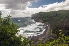Isola Hawai della costa di Kolhala grande Immagine Stock Libera da Diritti