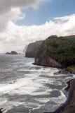 Isola Hawai della costa di Kolhala grande Fotografia Stock Libera da Diritti