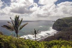 Isola Hawai della costa di Kolhala grande Fotografie Stock