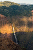 Isola Hawai di Kauai del canyon di Waimea Fotografie Stock Libere da Diritti