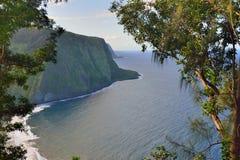 Isola Hawai U.S.A. dell'allerta della valle di Waipio grande Immagine Stock Libera da Diritti