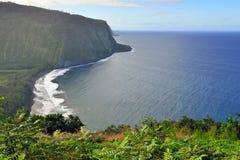 Isola Hawai U.S.A. dell'allerta della valle di Waipio grande Fotografie Stock Libere da Diritti