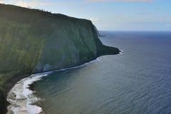 Isola Hawai U.S.A. dell'allerta della valle di Waipio grande Fotografia Stock Libera da Diritti