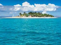 Isola iconica del Fijian Fotografia Stock