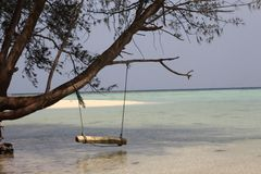 Isola Indonesia di Cemoro Kecil immagini stock